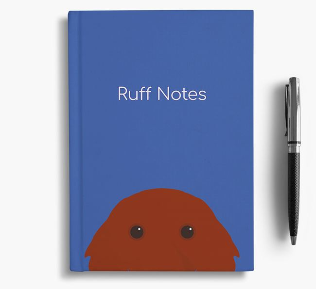 'Ruff Notes' Red Setter Notebook