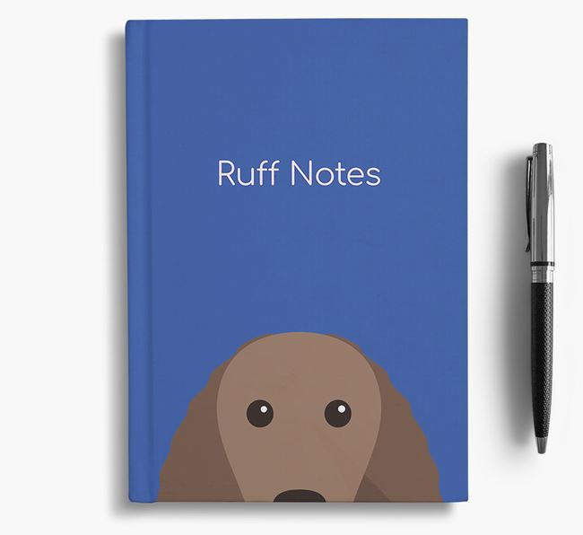 'Ruff Notes' Water Spaniel Notebook