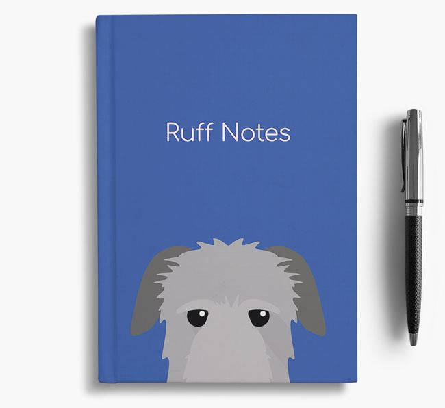 'Ruff Notes' Irish Wolfhound Notebook