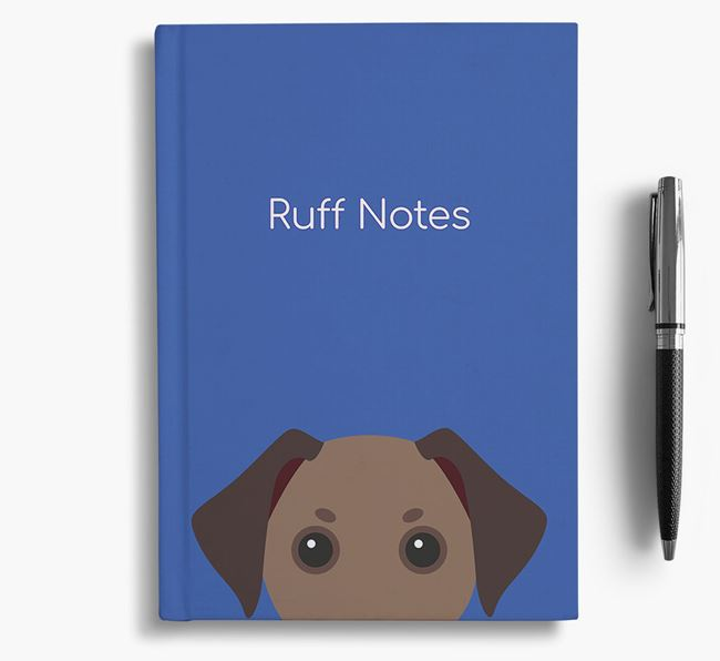 'Ruff Notes' Jackshund Notebook