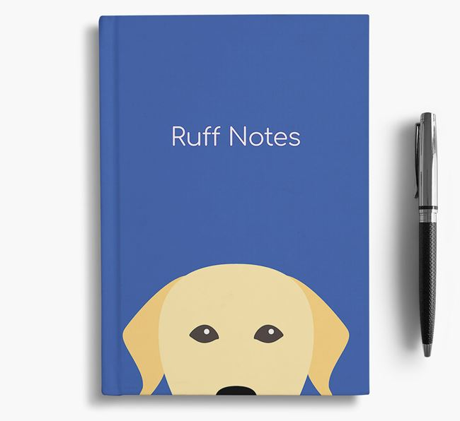 'Ruff Notes' Labrador Notebook