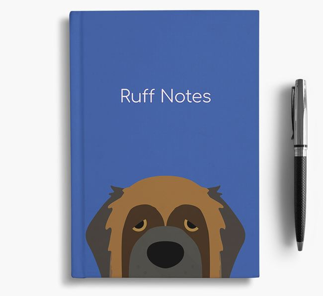 'Ruff Notes' Leonberger Notebook
