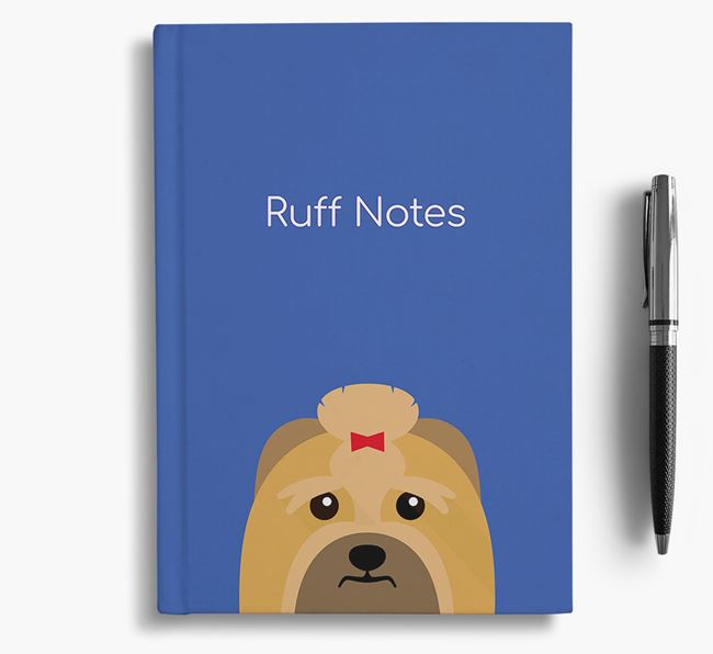 'Ruff Notes' Lhasa Apso Notebook