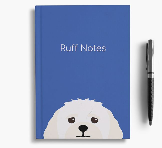 'Ruff Notes' Lhasapoo Notebook