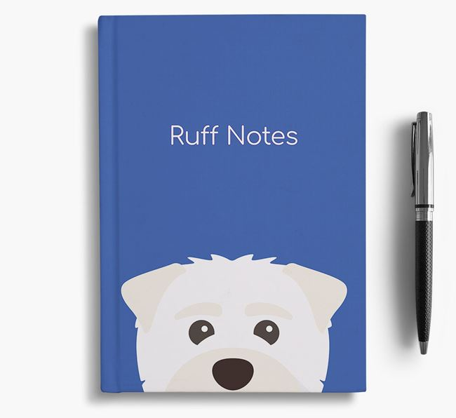 'Ruff Notes' Maltipom Notebook