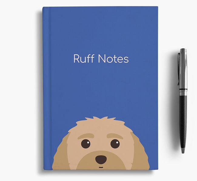 'Ruff Notes' Malti-Poo Notebook