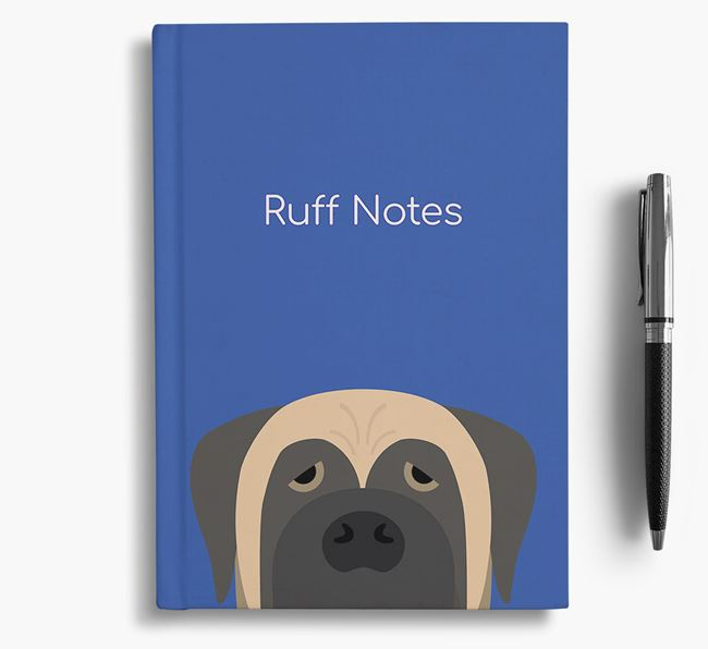 'Ruff Notes' Mastiff Notebook