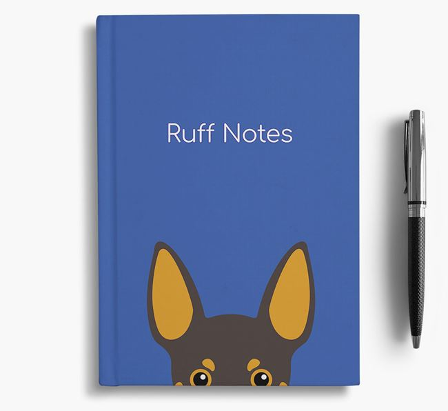 'Ruff Notes' Min Pin Notebook