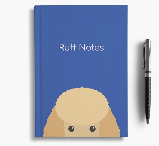 'Ruff Notes' Mini Poodle Notebook