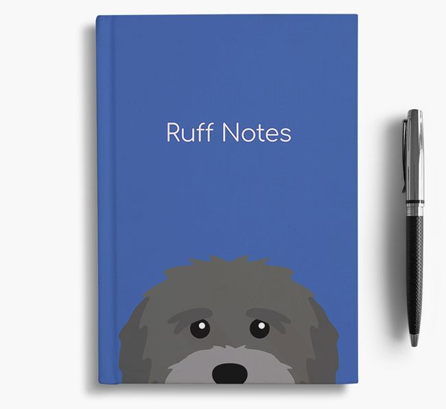 'Ruff Notes' Mutt Notebook