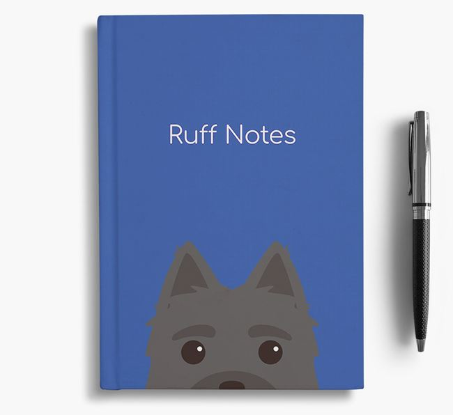 'Ruff Notes' Morkie Notebook