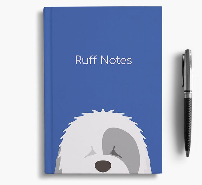 'Ruff Notes' Sheepdog Notebook