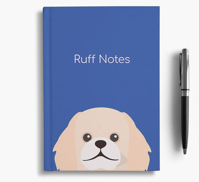 'Ruff Notes' Pekingese Notebook