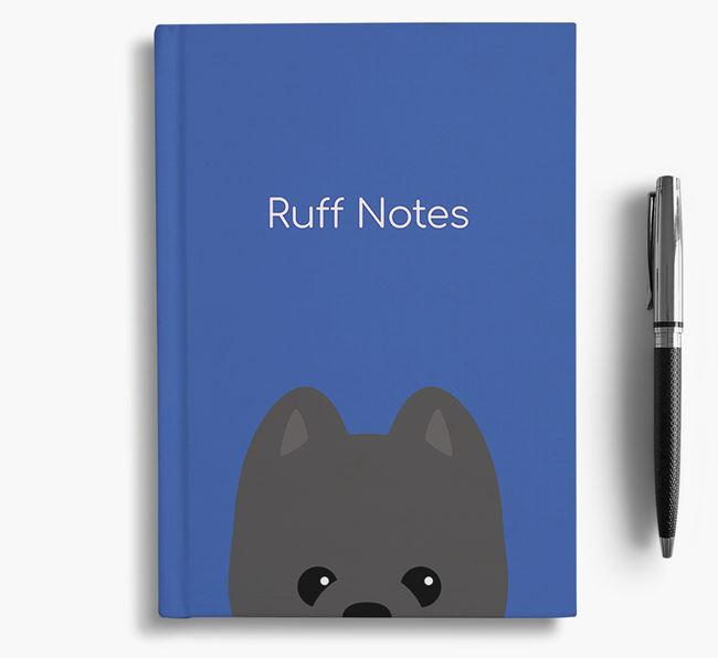 'Ruff Notes' Pomapoo Notebook