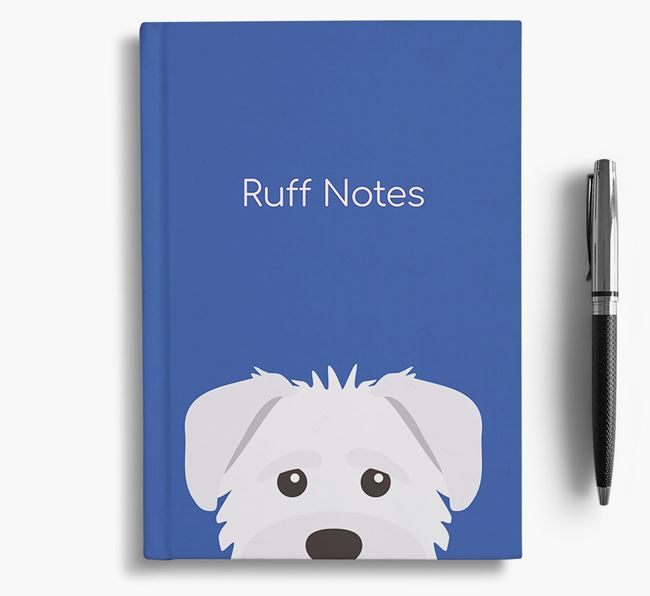 'Ruff Notes' Schnoodle Notebook