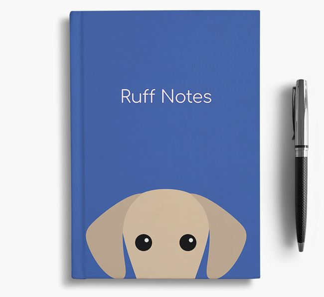 'Ruff Notes' Sloughi Notebook