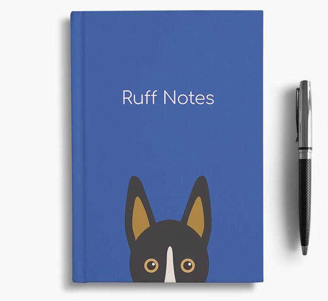 'Ruff Notes' Collie Notebook