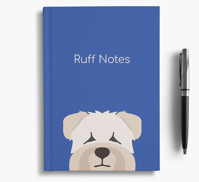 'Ruff Notes' Wheaten Terrier Notebook