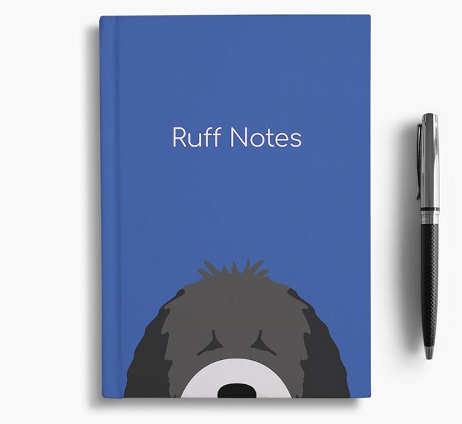 'Ruff Notes' Water Dog Notebook