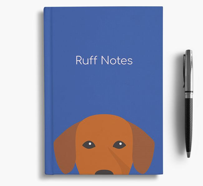 'Ruff Notes' Springador Notebook