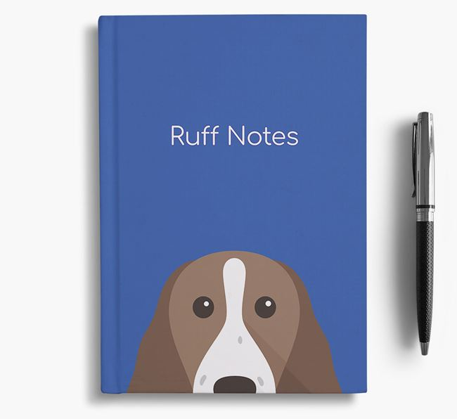 'Ruff Notes' Springer Notebook