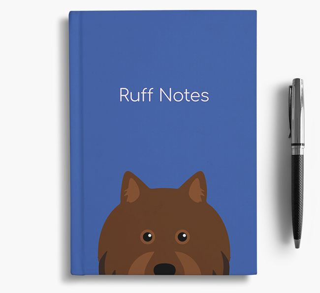 'Ruff Notes' Lapphund Notebook