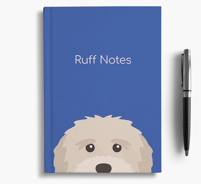 'Ruff Notes' Tibetan Terrier Notebook