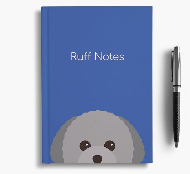 'Ruff Notes' Toy Poodle Notebook