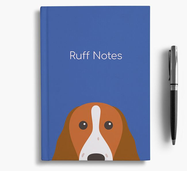 'Ruff Notes' Welshie Notebook