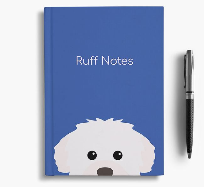 'Ruff Notes' Westiepoo Notebook