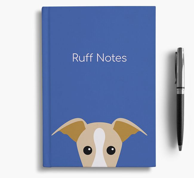 'Ruff Notes' Whippet Notebook