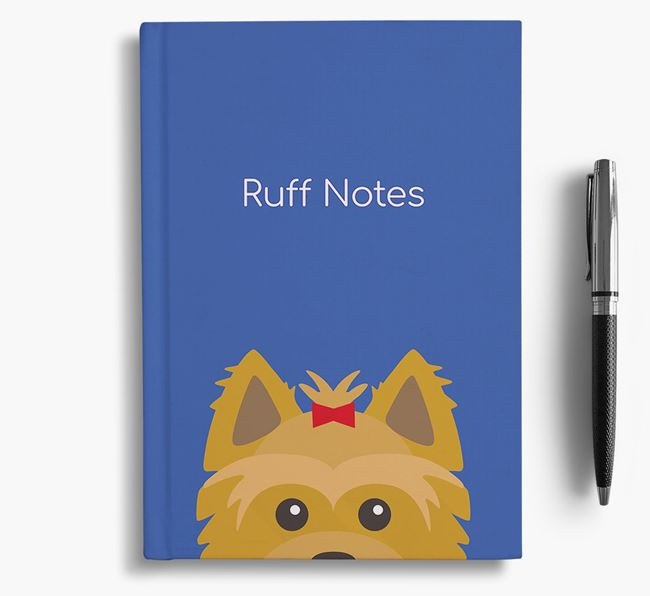 'Ruff Notes' Yorkie Notebook