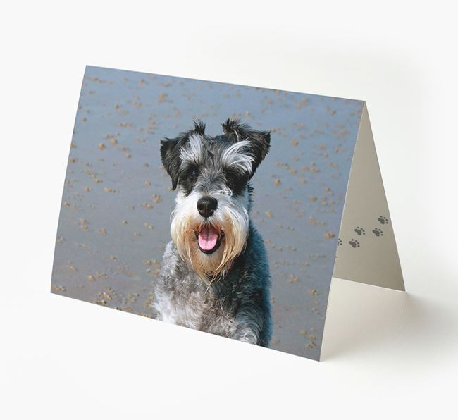 Photo Upload Landscape Card - Personalized for your Dog