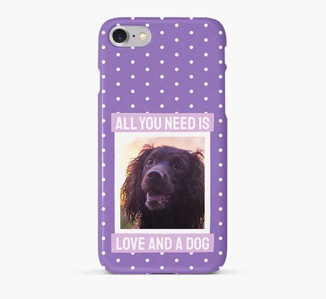 'All You Need is Love' Phone Case with photo of your Sprocker