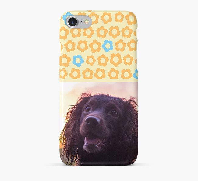 Flower Pattern Phone Case with photo of your Sprocker