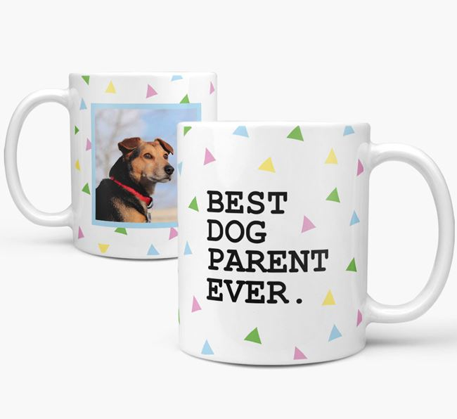 'Best Dog Parent Ever' Mug with Photo of your Jack-A-Poo