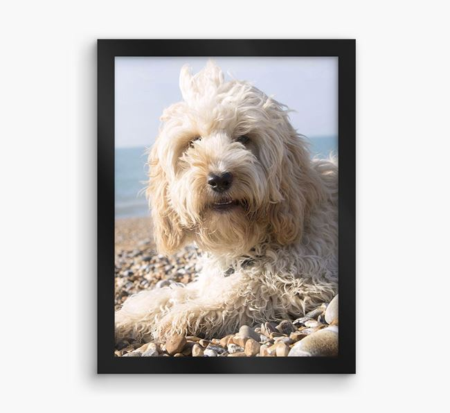 Photo Upload Framed Print - Personalised with your Cockapoo