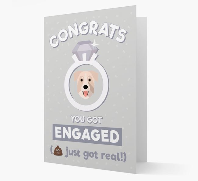 'Congrats You Got Engaged' Card with your Chinook Icon
