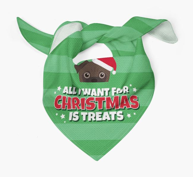 'All I Want for Christmas' - Personalized Jug Bandana