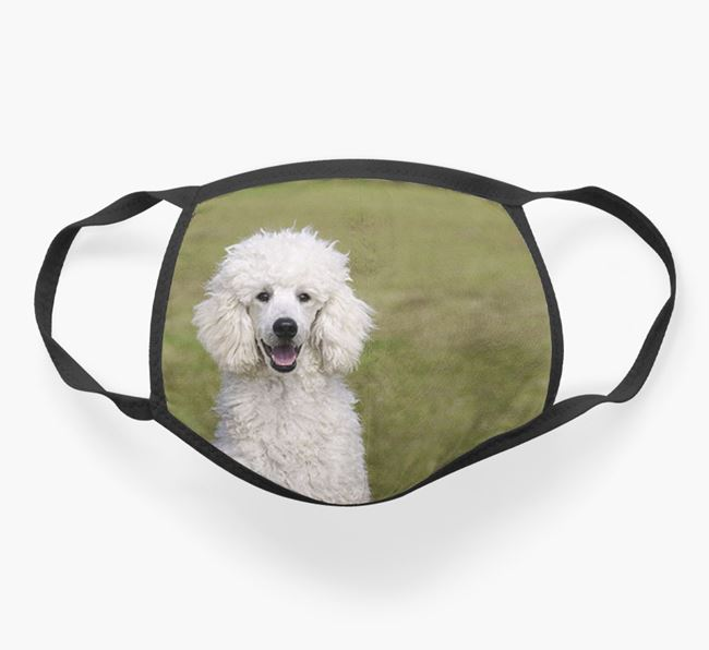 Photo Upload Face Covering - Personalised with your Poodle