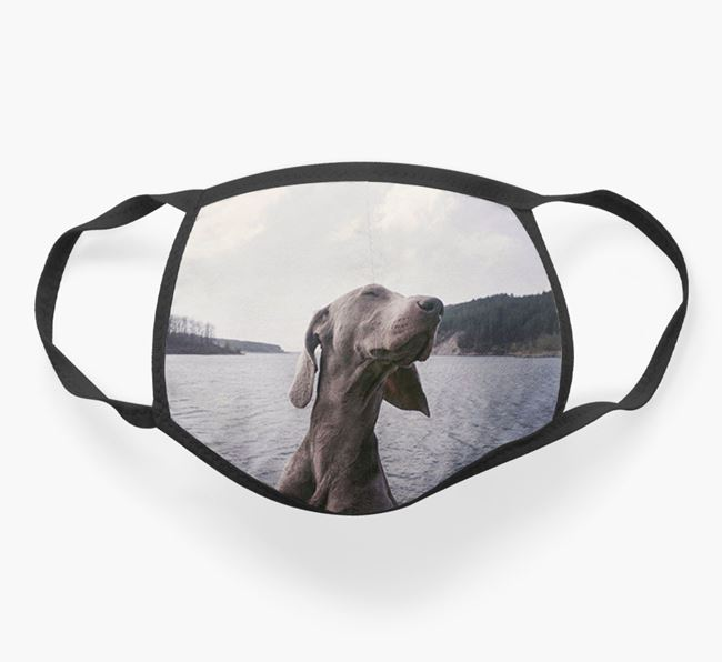 Photo Upload Face Covering - Personalised with your Dog
