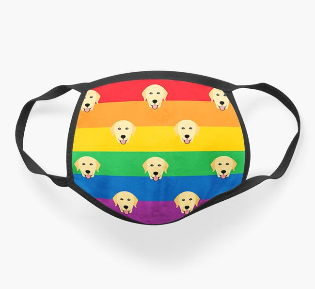 'Rainbow' Face Covering with Dog Icons