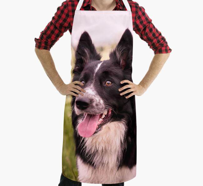 Personalised Apron with Photo of your Dog