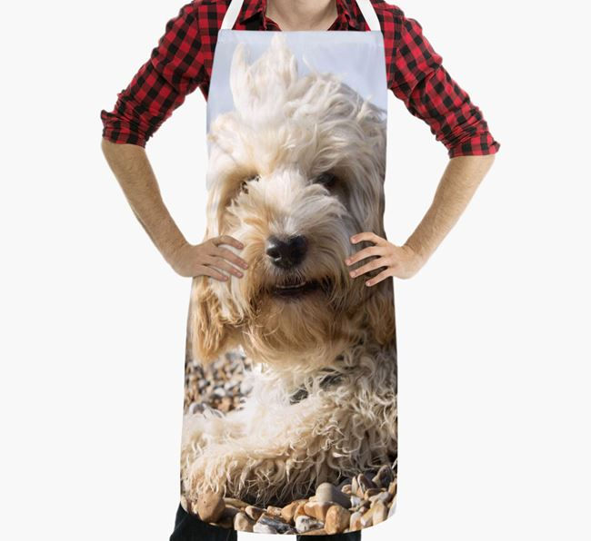 Personalised Apron with Photo of your Cockapoo