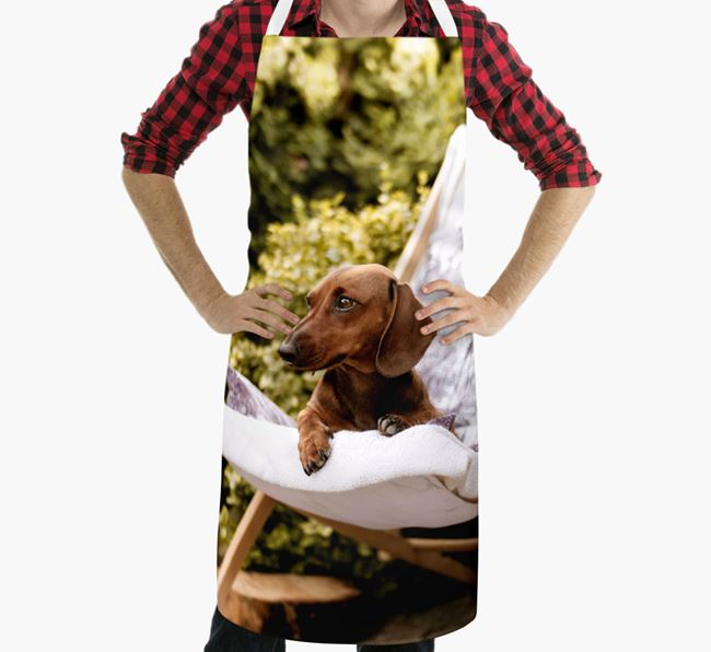 Personalised Apron with Photo of your Dachshund