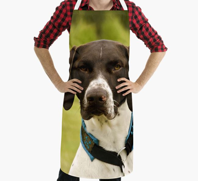 Personalised Apron with Photo of your German Shorthaired Pointer