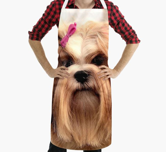 Personalised Apron with Photo of your Lhasa Apso