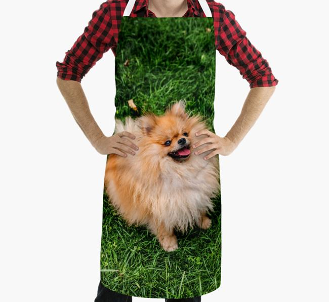 Personalised Apron with Photo of your Pomeranian