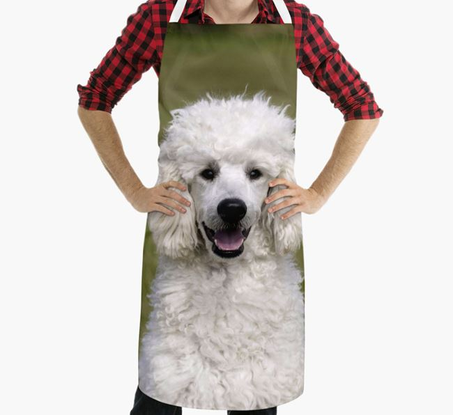 Personalised Apron with Photo of your Poodle
