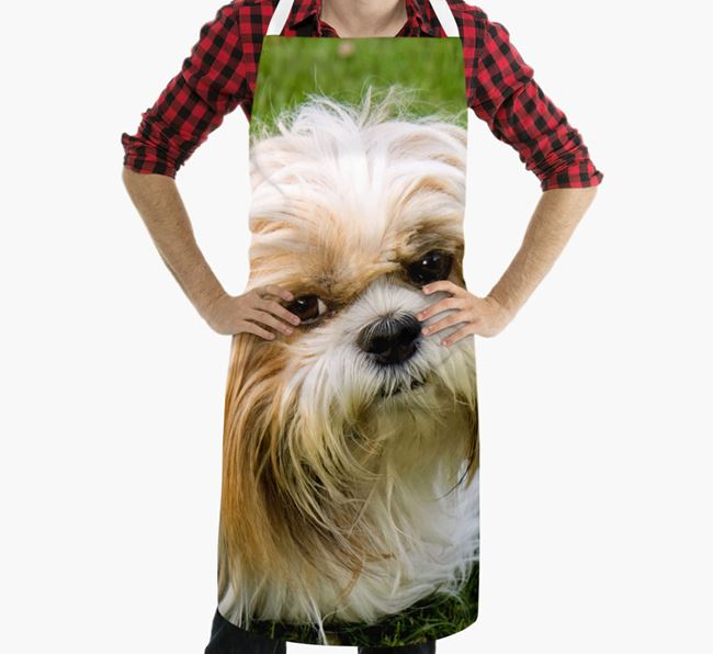 Personalised Apron with Photo of your Shih Tzu